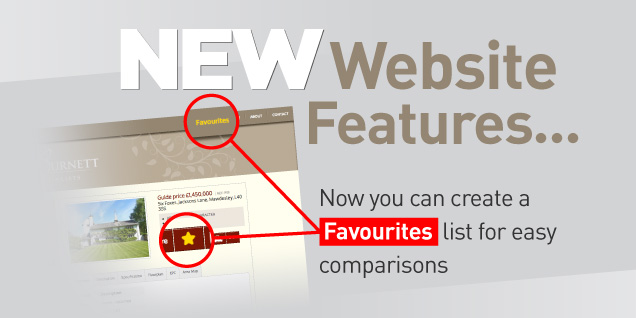 Our site has a new favourites feature